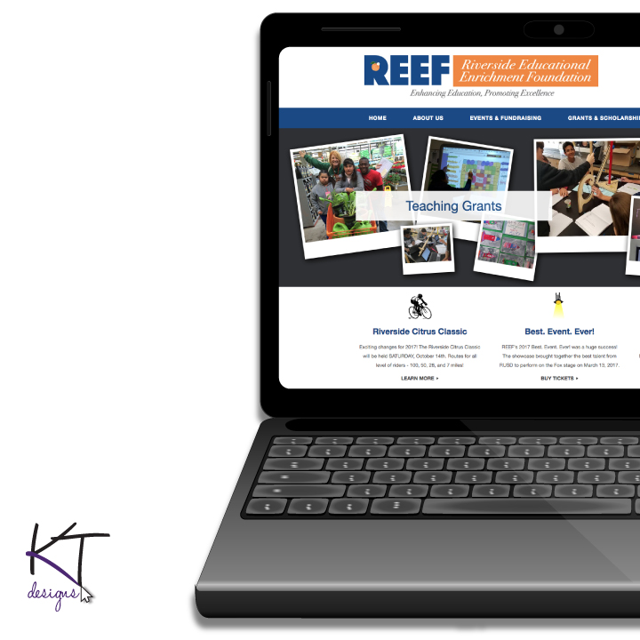 REEF – Riverside Education Enrichment Foundation Website