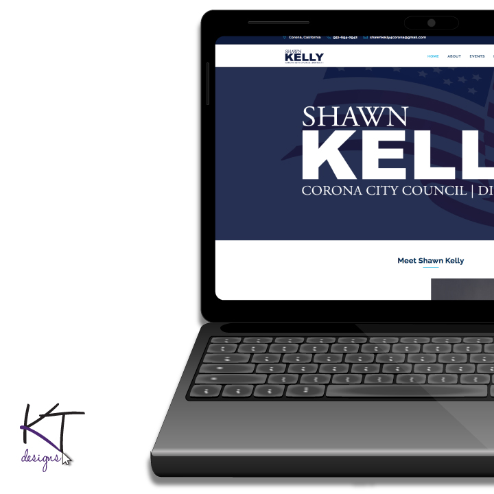 Shawn Kelly for City Council Website