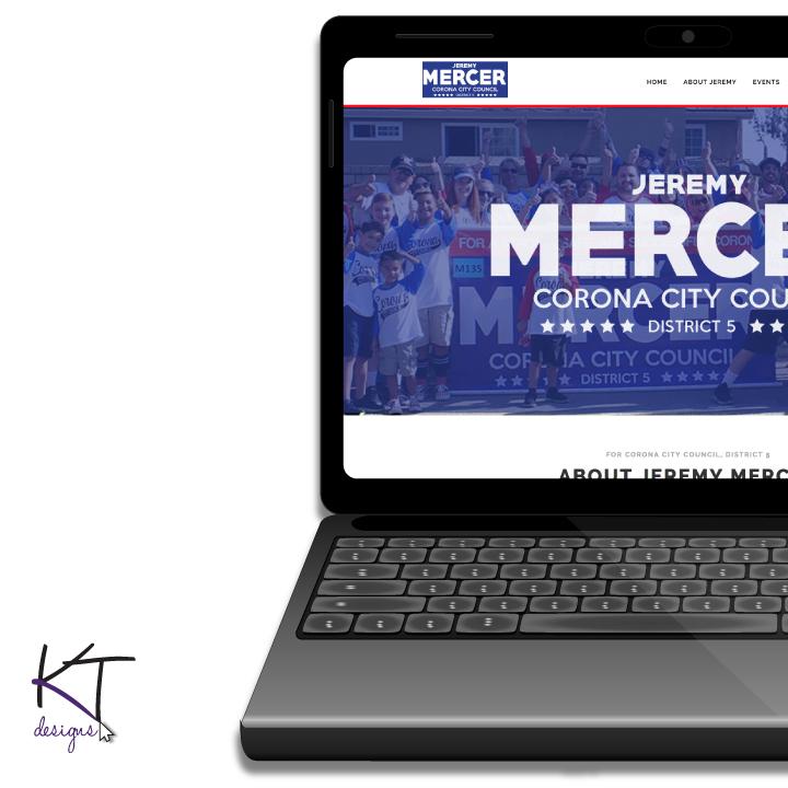 Jeremy Mercer for City Council Website