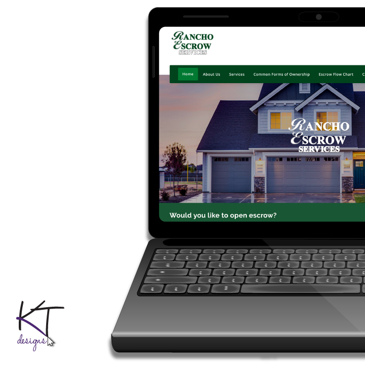 Rancho Escrow Services Website Update