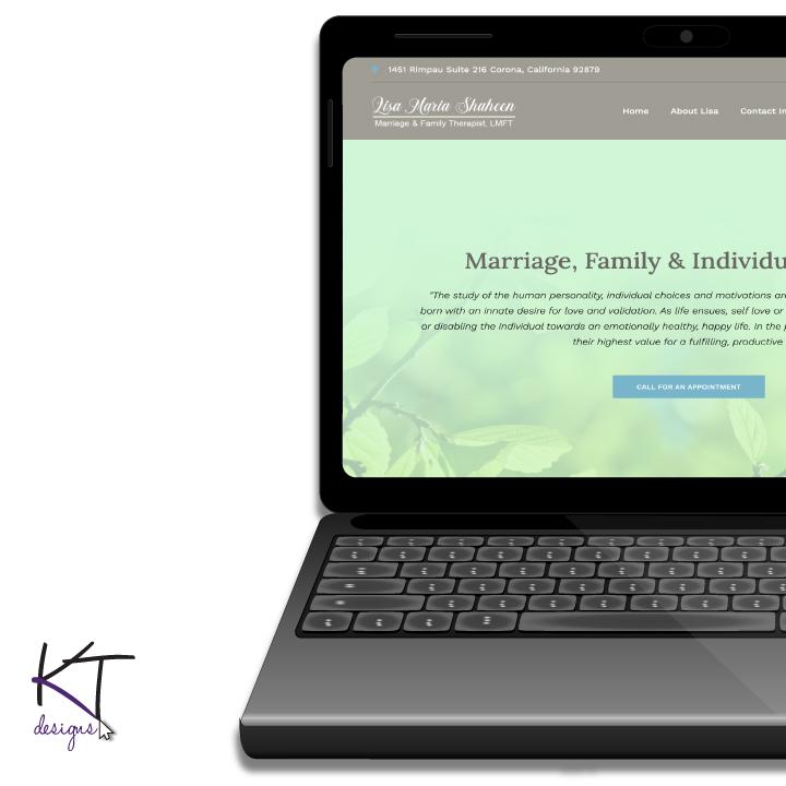 Therapist (LMFT) Website